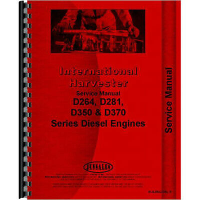Ih-s-eng Dsl E Mccormick Deering Wd9 Tractor Engine Service Manual