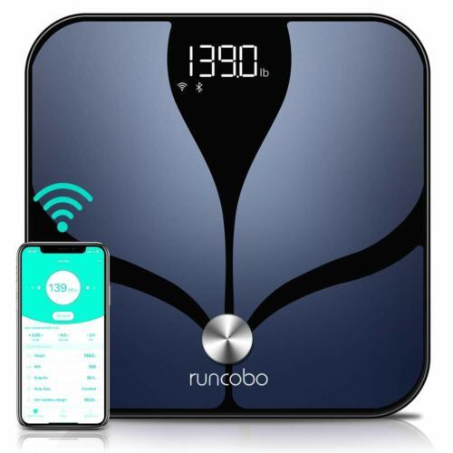 Runcobo CS20C Smart Scale, WiFi, Bluetooth, 14 body measurements, multi-user