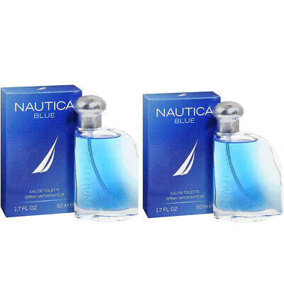 Brand New 2 PACK-Nautica Blue Cologne by Nautica 1.7 oz EDT For Men