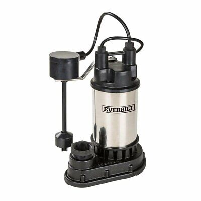 Everbilt 12 Hp Submersible Sump Pump