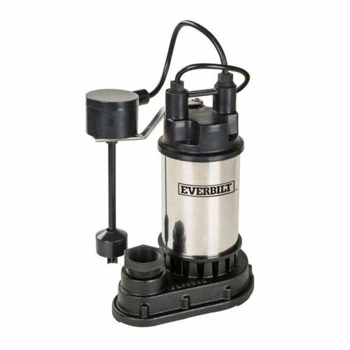 Everbilt 1/2 HP Submersible Sump Pump