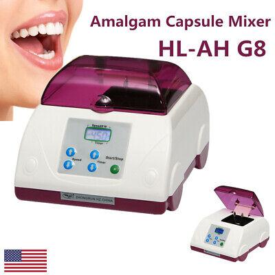 Dental Amalgamator High Speed Digital Amalgama Capsule Mixer Blender Hl-ah G8 Us