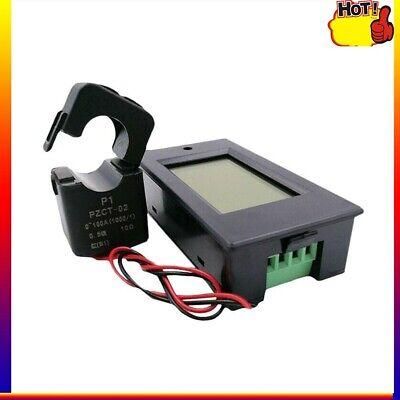 100a Ac80-260v Lcd Digital Power Kwh Watt Meter Volt Amp Voltmeter Ammeter Meter