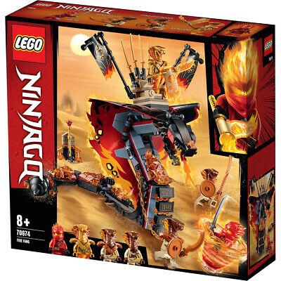 Lego Ninjago Fire Fang Building Set - 70674