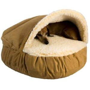NEW Snoozer 87080 Small Luxury Cozy Cave, Camel Condition: New