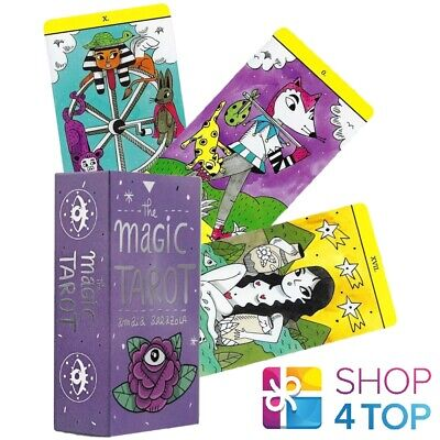 THE MAGIC TAROT DECK CARDS FOURNIER 78 CARDS AMAIA ARRAZOLA ESOTERIC TELLING NEW