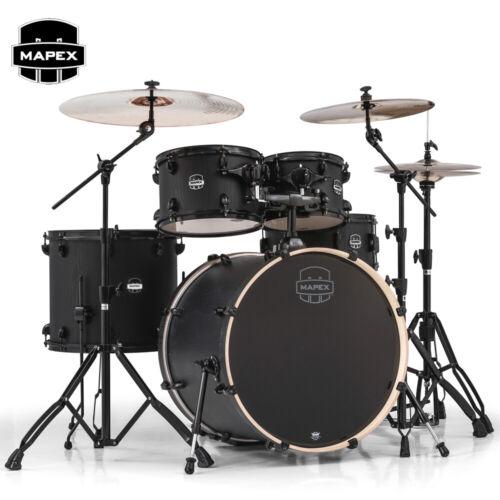 NEW Mapex Mars 5-Piece Rock Birch Shell Pack Drums - Nightwood MA529SFBZW