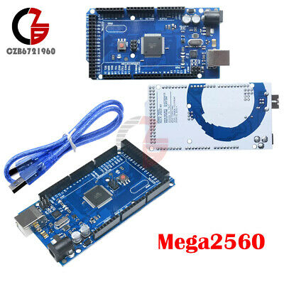 Ch340g R3 Atmega2560-16au Mega 2560 R3 Atmega 2560 Board Cable Kit For Arduino