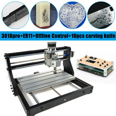 3axis Diy Cnc 3018pro Wood Engraving Carving Pcb Milling Machineoffline Control