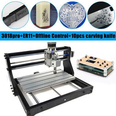3 Axis Cnc 3018pro Router Pcb Wood Soft Metal Engraver Millingoffline Control