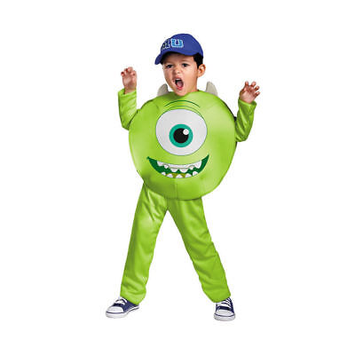New Boys Green Monsters University Mike Classic Halloween Costume Child Size 4-6](Mike Halloween Costume)