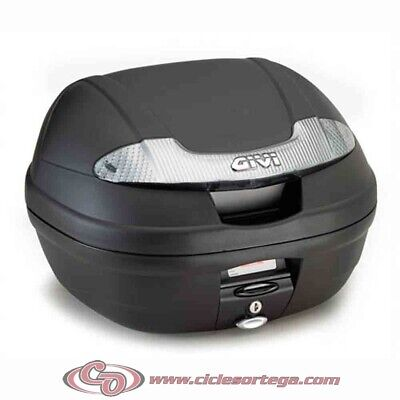 Baul Givi E340 Tech 34 litros E340NT Monolock con base universal