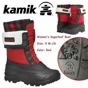 NEW Kamik Womens Sugarloaf Boot Condtion: New, 9 M US, Red