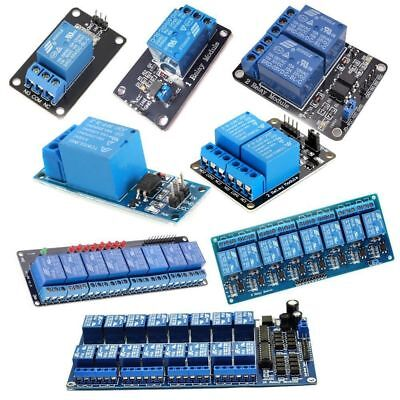 5v 1248 Ch Channel Relay Board Module Optocoupler Led For Arduino Pic Arm Avr