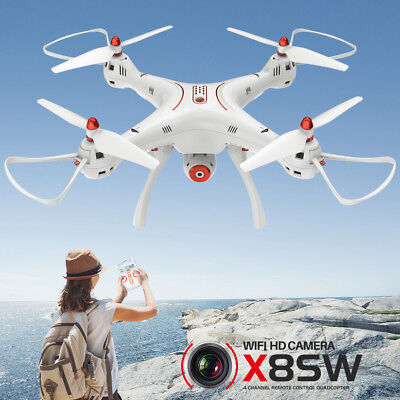 RC Quadcopter Drone Syma X8SW 2.4G 6-Axis FPV Wifi 720P Camera Altitude Hold RTF