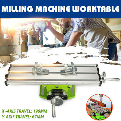 Mini Precision Multifunction Milling Machine Bench Drill Fixture Work Table U3b6