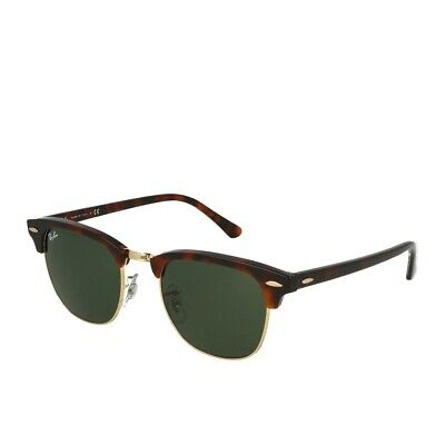 Ray-Ban Clubmaster RB3016 W0366/49 Mock Tortoise Arista Sonnenbrille