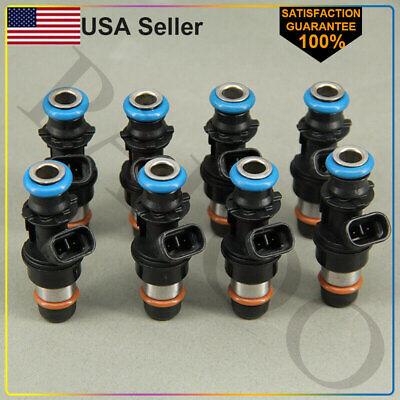 8*Fuel Injectors OEM Delphi 25317628 Fit 99-07 Chevy GMC Truck 4.8L 5.3L 6.0L