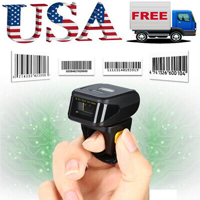 Eyoyo Wireless Bluetooth Finger Ring Scanner 1d Laser Reader For Ios Android Mac