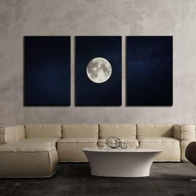 Wall26 - Full Moon on Dark Starry Sky Background - CVS - 24