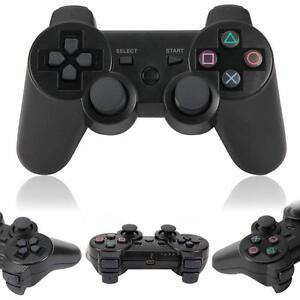 Wireless Bluetooth Game Controller for Sony PS3 PS 3 Black
