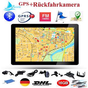 7 Zoll LKW GPS Gerät Navigation Navi MP4 FM  Bluetooth 16GB Rückfahrkamera