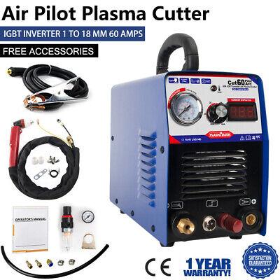 Igbt Pilot Arc Air Plasma Cutting Machine 60a 110220v -cnc Compatible
