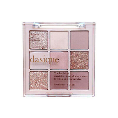 Eyeshadow Palette DASIQUE 03 Nude Potion 9 Colors Makeup Eye Glitters Matte