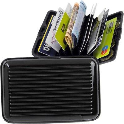 Kreditkartenhülle Alu Etui Aluminium EC Kartenetui Grün Geschenk 1502Gr