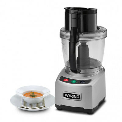 Waring Commercial Wfp16s Sealed Batch Bowl Food Processor 4 Qt.
