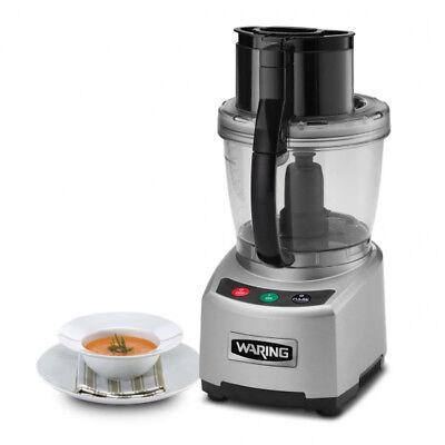 Waring Commercial Wfp16s Sealed Batch Bowl Food Processor 4 Qt.