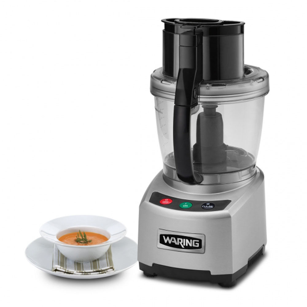 Waring Commercial WFP16S Sealed Batch Bowl Food Processor, 4