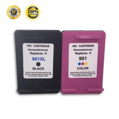 Combo Pack For HP 901 901XL Ink Cartridge Officejet 4500 J4540 J4550 J4580 - 4550 Cartridges