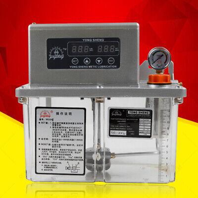 4l Electric Automatic Lubrication Pump Machine Tool Lubrication Pump Us Seller