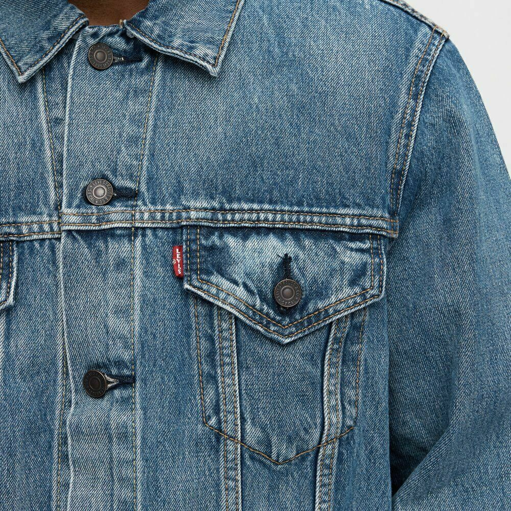 Levis Vintage Fit Trucker Jacket Levi's Men's Color Light Wa