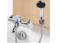 Chrome Bath Filler Hand Held Shower Mixer Tap Bathroom Taps 3 Function