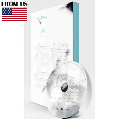 BTS KPOP White Ver. In The Mood For Love PT.1 BANGTAN BOY 3rd Album CD+Photocard