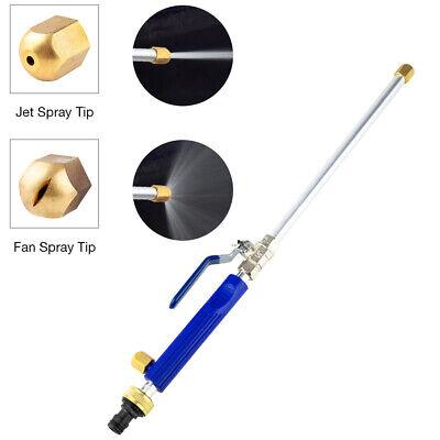 2-in-1 High Pressure Power Washer Water Spray Gun Nozzle Wand Attachment Garden