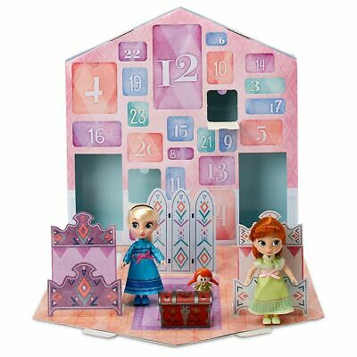NEW Disney 2019 Frozen 2 Advent Calendar Countdown Christmas Dolls Accessories