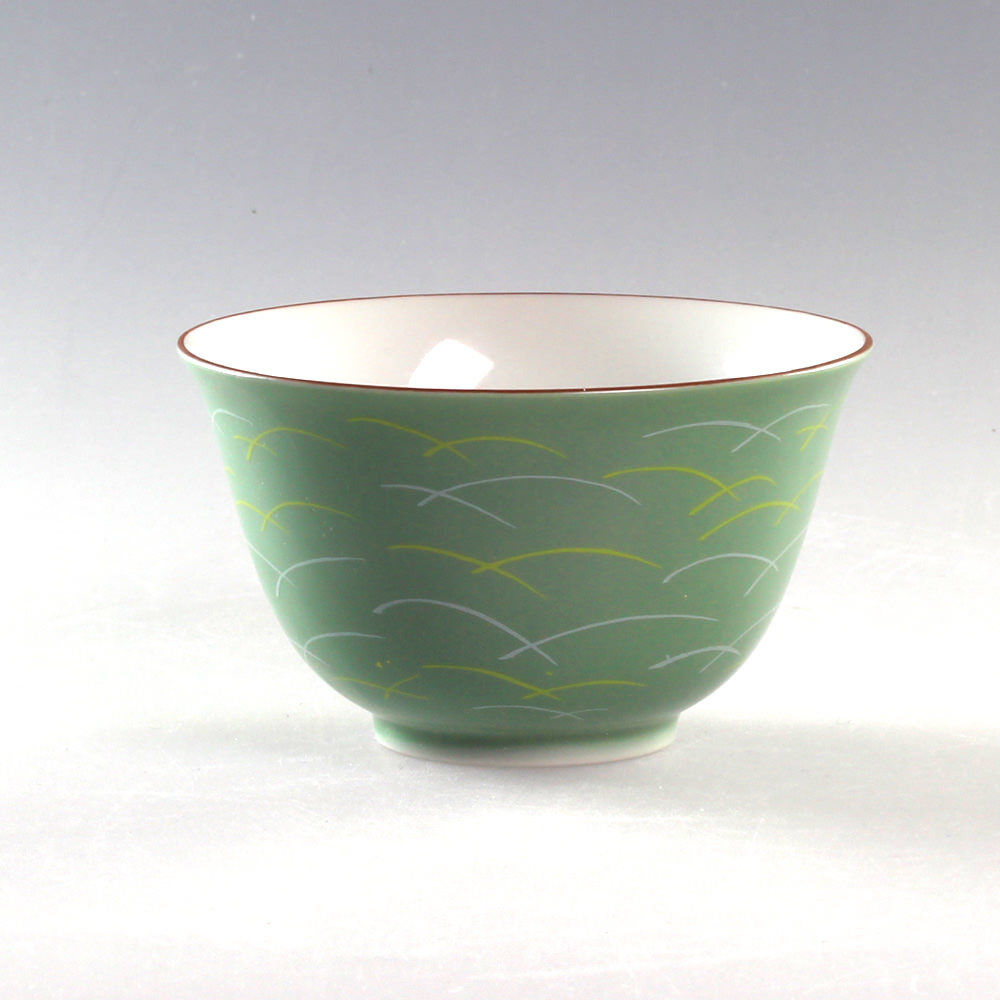 elegante japanische Teeschale passend zur Kanne Teeschale Sagano