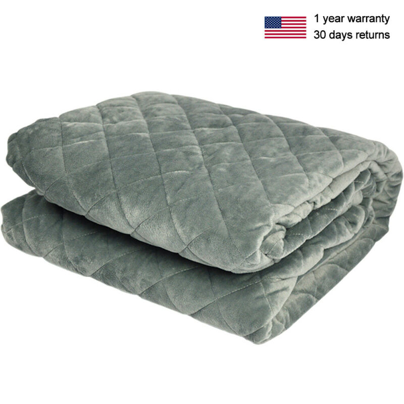 Dark Gray Duvet Cover Weighted Blanket Comfortable With Zipp