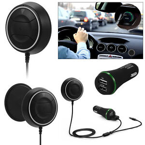 Wireless Bluetooth 4.0 Car Speaker Music Receiver AUX 3.5mm Adapter Kit MA360