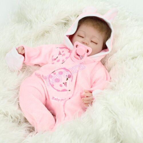 Купить Kaydora - Handmade Lifelike Realistic 16 Sleeping Newborn Vinyl Silicone Reborn Baby Doll