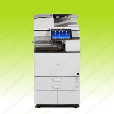 Ricoh Aficio Mp 5055 Laser Mono Bw Printer Copier Scan Duplex 50ppm A3 Mfp 6055