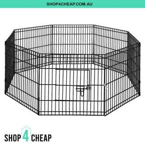 BRAND NEW Small 8 Panel Pet Dog Playpen Enclosure Play Pen Fence