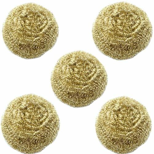 FEITA Solder Tip Cleaning Brass Wire for Soldering Iron Tip Cleaner - 5 Packs