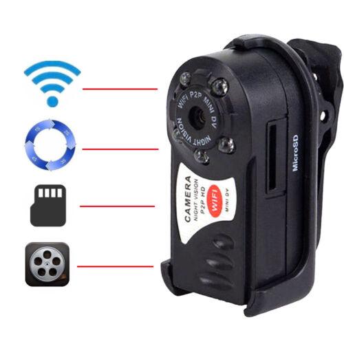 WIFI Mini DV IP Wireless Spy Cam Night Vision Camera Securit