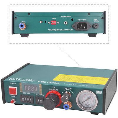 220v 983a Solder Paste Glue Dropper Automatic Glue Dispenser Liquid Controller