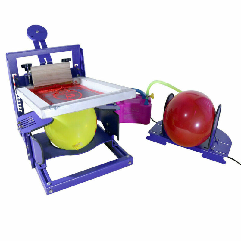 Universal One Color Screen Printing Machine for Ballon Desktop Screen Printer US