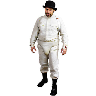 Clockwork Orange Droog Mens Droogies Costume